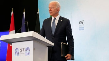 Biden mutters he'll 'get in trouble with my staff' for taking extra question