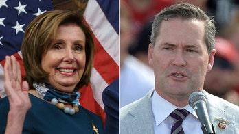 GOP Rep. Waltz battles Pelosi over renaming 'Squad' the 'Hamas caucus'