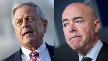 GOP rep tears into Mayorkas, claims VP Harris 'laughing' at border crisis: report