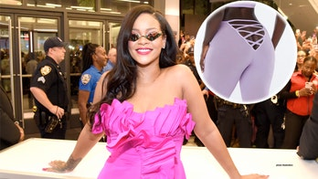 Rihanna's lingerie leggings makes social media debate butt-baring designs: 'Big NO'