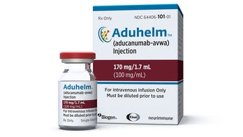 Biogen's debated Alzheimer's drug given to first patient