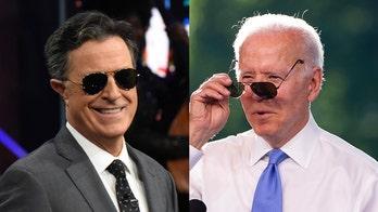 Stephen Colbert mocks Biden's 'Grandpa's had it with your lip' energy in clash with CNN reporter