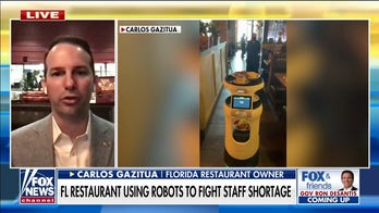 Miami restaurant owner turns to robot server amid worker shortage
