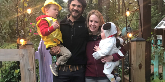 Joe Kent, Shannon Kent and their two sons in November 2018. (Courtesy of Joe Kent)