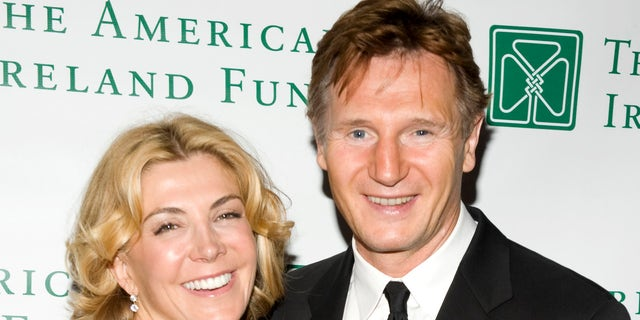 Actor Liam Neeson and actress Natasha Richardson. The late 'Parent Trap' star and 'Taken' actor married in 1994. (Photo by Shawn Ehlers/WireImage)