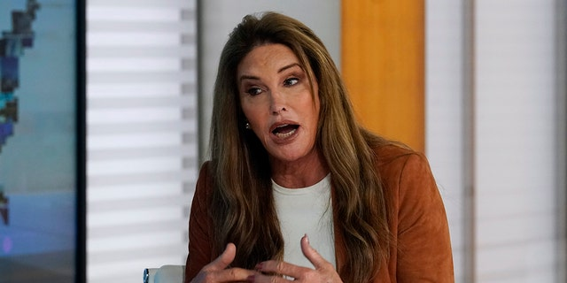 Caitlyn Jenner, a Republican candidate for governor of California, interviewed Fox News Channel.