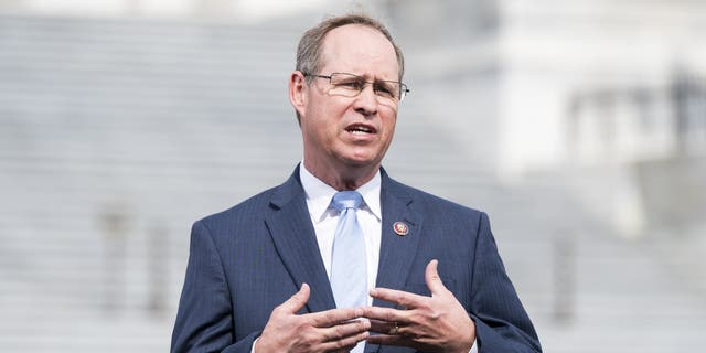Rep. Greg Murphy, ranking member of the House Education and Labor Committee's Subcommittee on Higher Education, will introduce a bill Thursday that aims to protect free speech at colleges and universities. (Bill Clark/CQ Roll Call via AP Images)