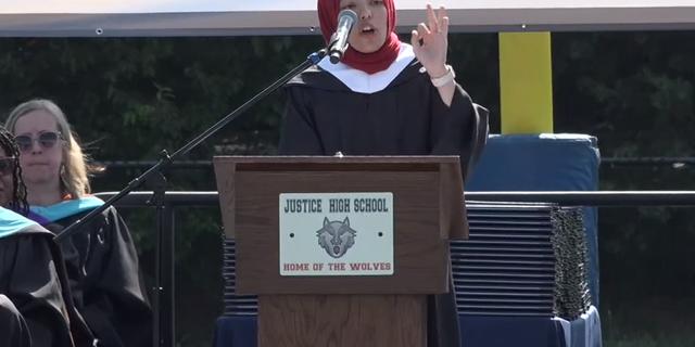 Justice High School Graduation ceremony