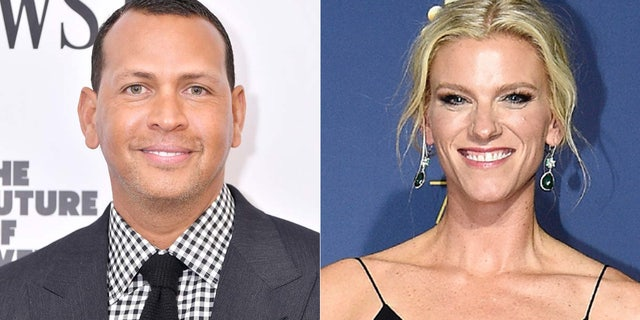Alex Rodriguez and Lindsay Shookus celebrated her birthday together with a group of friends.(Getty)