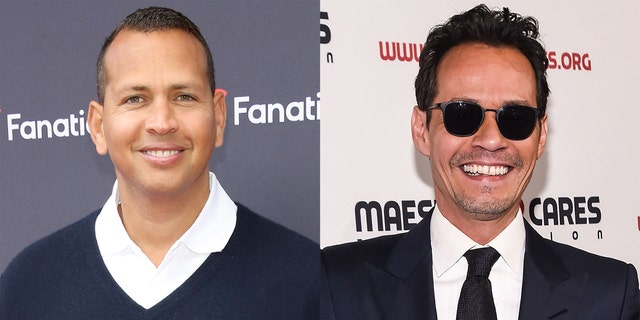 Lopez previously lived in Miami with ex-fiancé Alex Rodriguez (left) and ex-husband Marc Anthony (right).