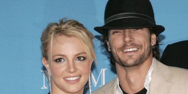 En 2004, Spears se casó con Kevin Federline.  La ex pareja comparte dos hijos: Sean Preston y Jayden James.  (Foto de J. Merritt / FilmMagic)