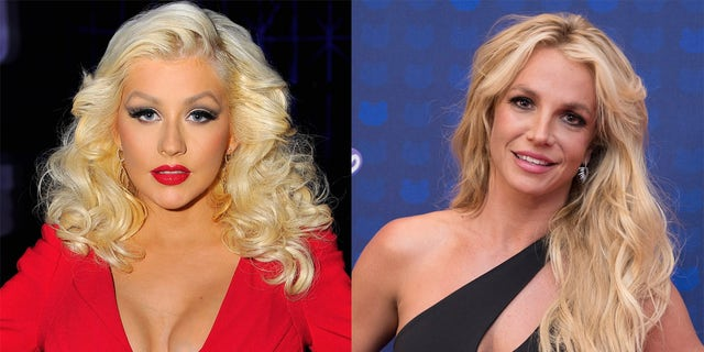 Christina Aguilera wrote a message of support for Britney Spears.