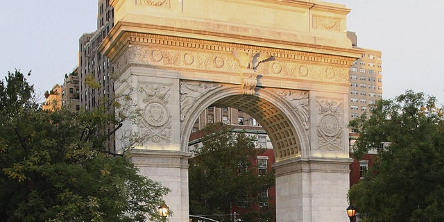 Washington Square Park, New York City, is seen Sept. 27, 2007. (Photo by Mychal Watts/WireImage)