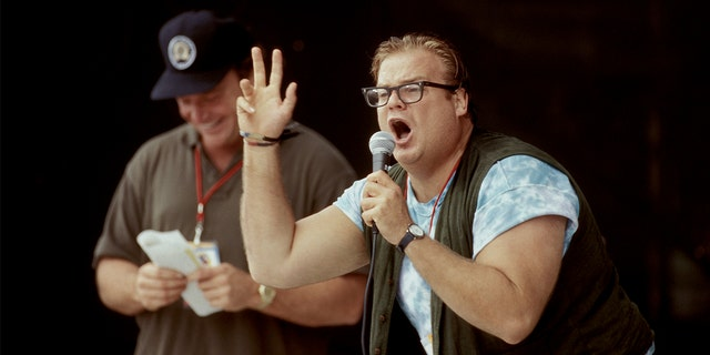 Tom Arnold said he was 'very sad' after losing his pal Chris Farley.