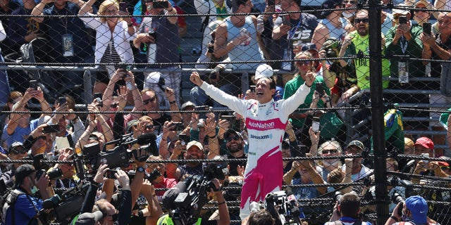Helio Castroneves is the fourth driver to win four Indy 500s.