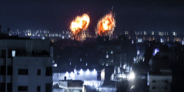 Israel launches airstrikes on Hamas after balloon attack, IDF Says