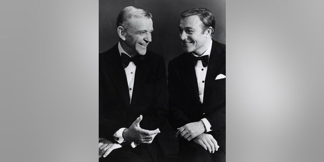 Ruta Lee worked with both Fred Astaire (left) and Gene Kelly.