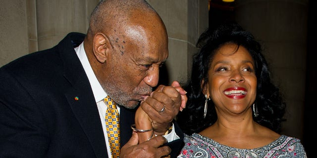 Comedian Bill Cosby (left) and actress Phylicia Rashad attend the 2nd Annual Legacy to Promise Gala at Riverside Theater on September 26, 2011 in New York City.