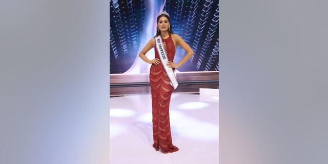 Andrea Meza – who has a software engineering degree – beat out out Miss Brazil at the end of the night, screaming when the announcer shouted 'Viva Mexico!'