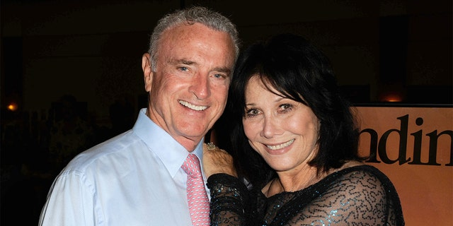 Kevin Dobson and former 'Knots Landing' co-star Michele Lee. The actor passed away in 2020 at age 70.
