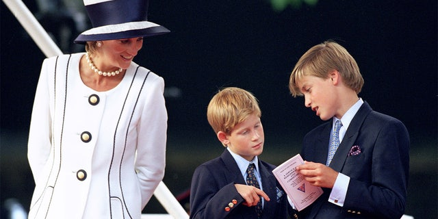 Princess Diana was described by those who knew her as a loving mother who was not afraid to publicly kiss her children despite her royal status.