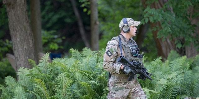 The manhunt lasted for three weeks. It cost more than $23 million and involved hundreds of state and local law enforcement officers.