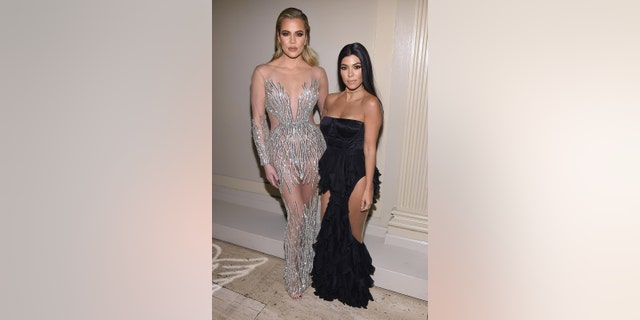Khloé Kardashian (left) and sister Kourtney Kardashian call themselves 'Jane and Suzanne,' referring to workout stars Jane Fonda and Suzanne Somers.