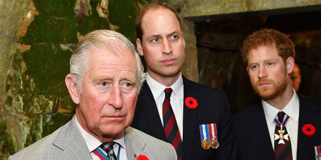 """A pal alleged that Prince Charles is """"shellshocked"""" by the alleged fallout between his sons Prince William and Prince Harry."""
