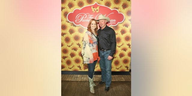 Ree Drummond said her husband Ladd Drummond was super supportive in her weight loss journey.