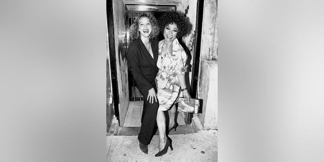 Kitt Shapiro and Eartha Kitt remained close over the years.