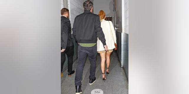 JLo put on a leggy display for the couple's dinner date at Avra Beverly Hills Estiatorio.
