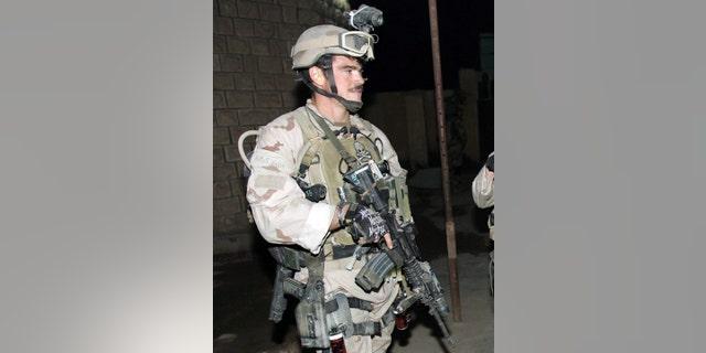 Joe Kent in Iraq