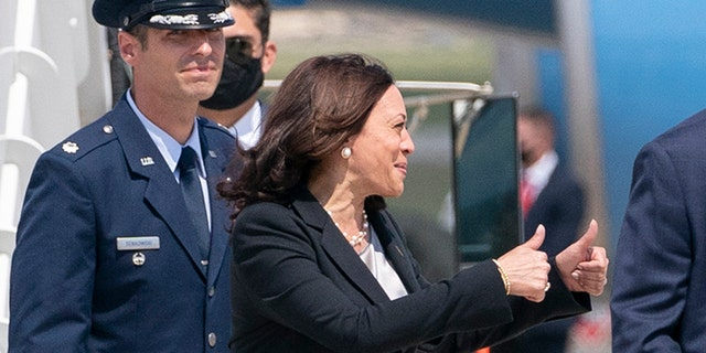 Kamala Harris forced to return to Maryland on way to Guatemala due to 'technical issue'