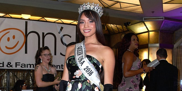 Kataluna Enriquez was the first transgender woman to take home the title of Miss Nevada USA in a monumental step for the LGBTQIA community. In addition, she will be the first openly transgender woman to compete for the title of Miss USA. (Photo by Unique Nicole/Getty Images)