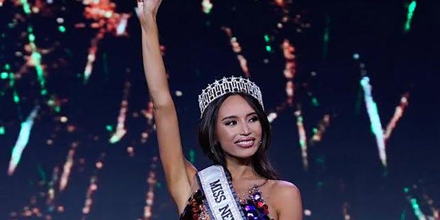 Kataluna Enriquez has been crowned Miss Nevada USA.