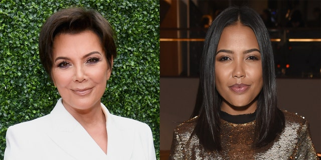 Teigen launched the line with Kris Jenner (left) and Emma Grede (right).