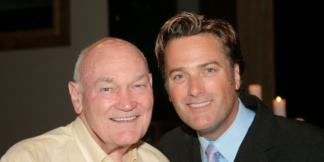 Michael W. Smith and his father Paul Smith (Used with permission per KLOVE Books and The MWS Group.)