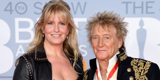 Rod Stewart's wife, model Penny Lancaster, becomes London police officer.jpg