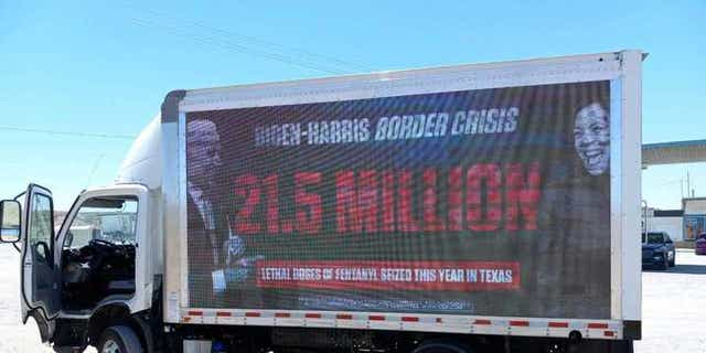 The RNC has followed Kamala Harris to the border with an ad campaign.