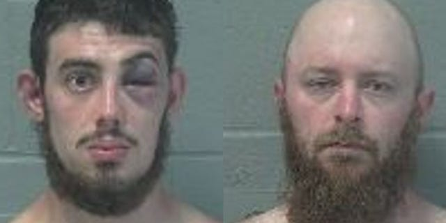 The two men have been identified as 22-year-old William Beeson and 29-year-old Justin Crowl.