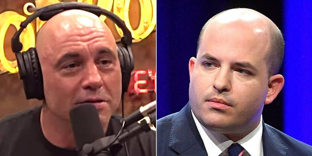 Joe Rogan torches CNN's Brian Stelter: 'Hey motherf---er, you're supposed to be a journalist'