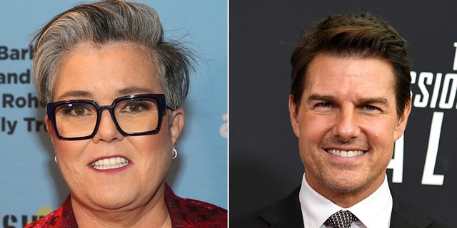 Rosie O'Donnell said she 'loves' Tom Cruise, and that in 25 years of friendship, the actor has never forgotten her birthday.
