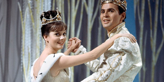 Damon also played the role of the prince in