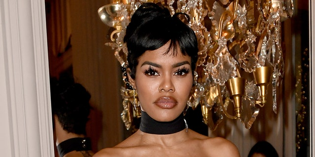 Teyana Taylor attends the Monot show as part of the Paris Fashion Week Womenswear Fall/Winter 2020/2021 on February 29, 2020, in Paris, France. Taylor was named Maxim's 'Sexiest Woman Alive' and is the first Black woman to ever top the 'Hot 100' list.