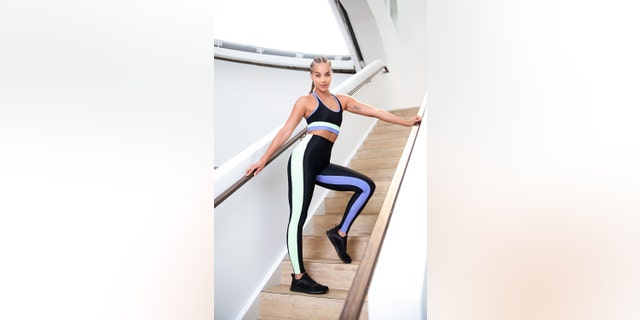 Jasmine Sanders said she likes to focus on leg workouts leading up to a big swimsuit shoot.