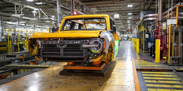 The 2021 Bronco is built at Ford's Michigan Assembly Plant