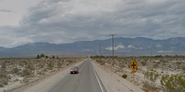 The four young women were struck while walking along Camp Rock Road in Lucerne Valley, Calif. -- outside of San Bernardino -- on Saturday night, investigators say. (Google Maps)