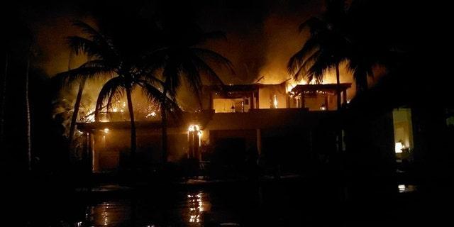 Casa Aramara suffered a fire on Tuesday night.