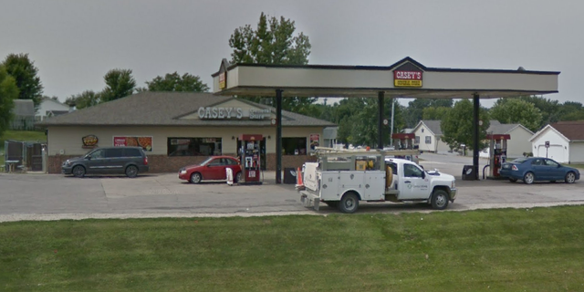 The Casey's store in Coggon, Iowa, where the shooting happened last night, police say. (Google Maps)
