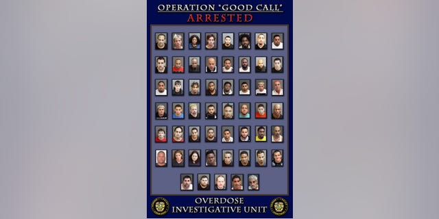 """More than 50 fentanyl dealers were arrested by the Orlando Police Department in """"Operation Good Call."""""""